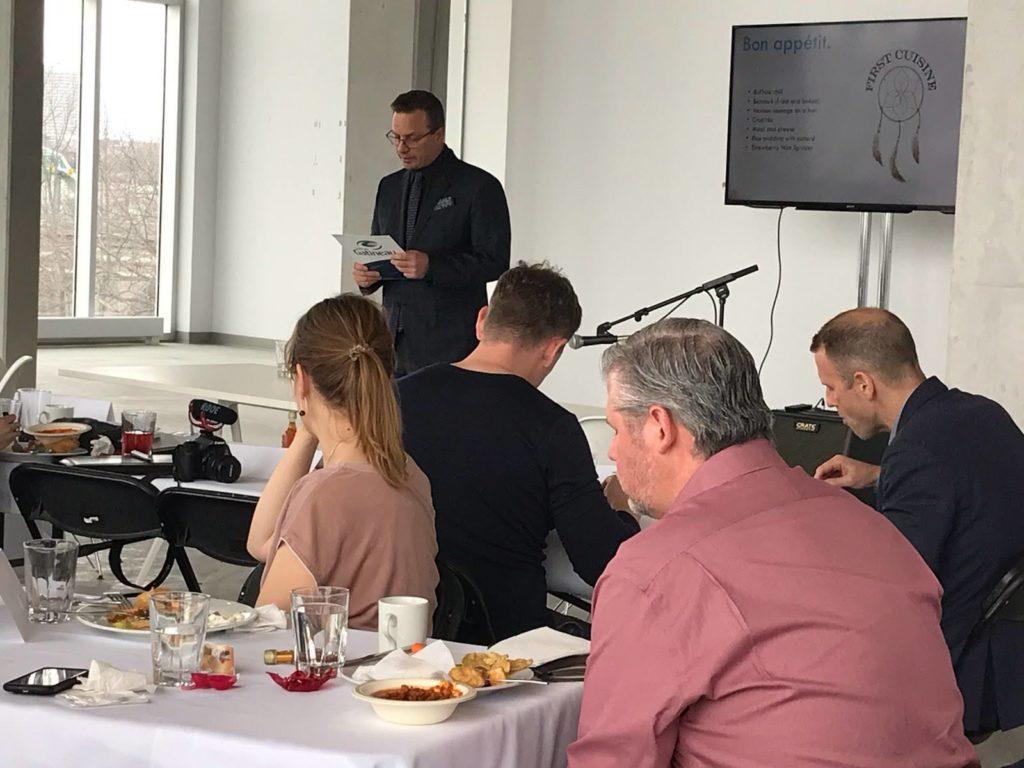 Nordic City Solutions - Zibi - Économic Developpement speech - Jean-François LeBlanc - président de la Commission de développement économique Ville de Gatineau